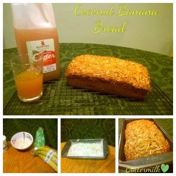 Coconut Banana Bread Blog