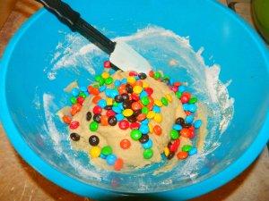 m&m cookies 4