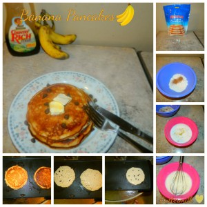 Banana Pancakes Mix