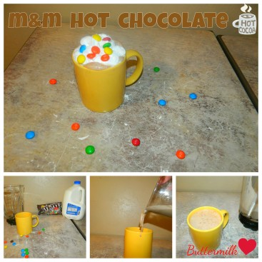 M&M Hot Chocolate